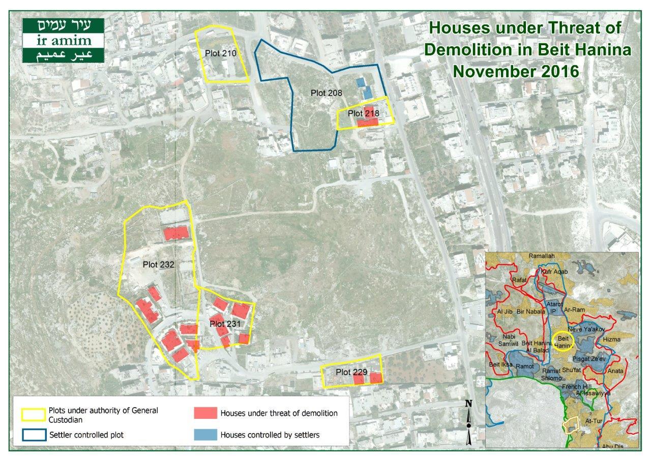 Beit Hanina Houses under Threat of Demolition