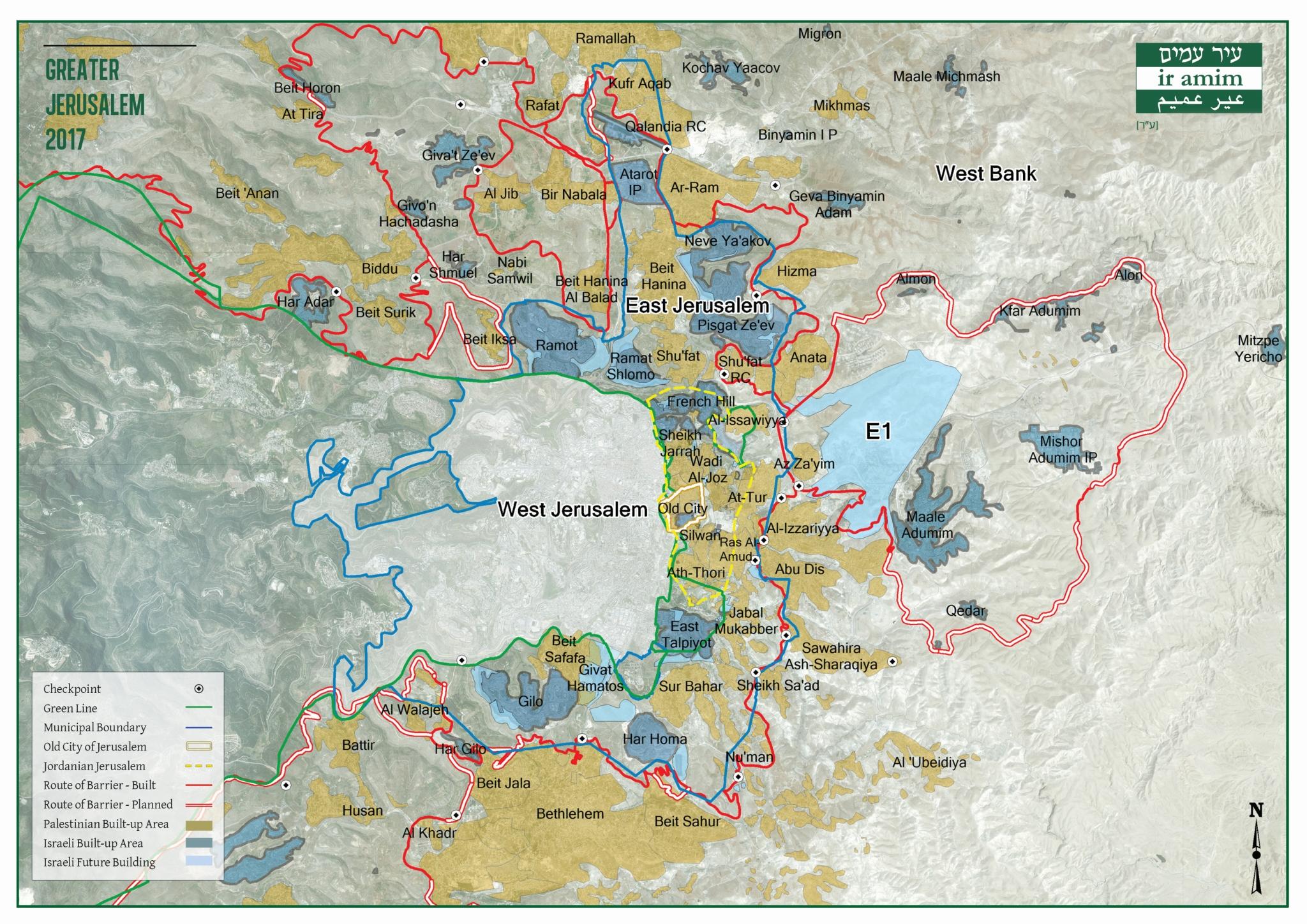Greater Jerusalem 2017