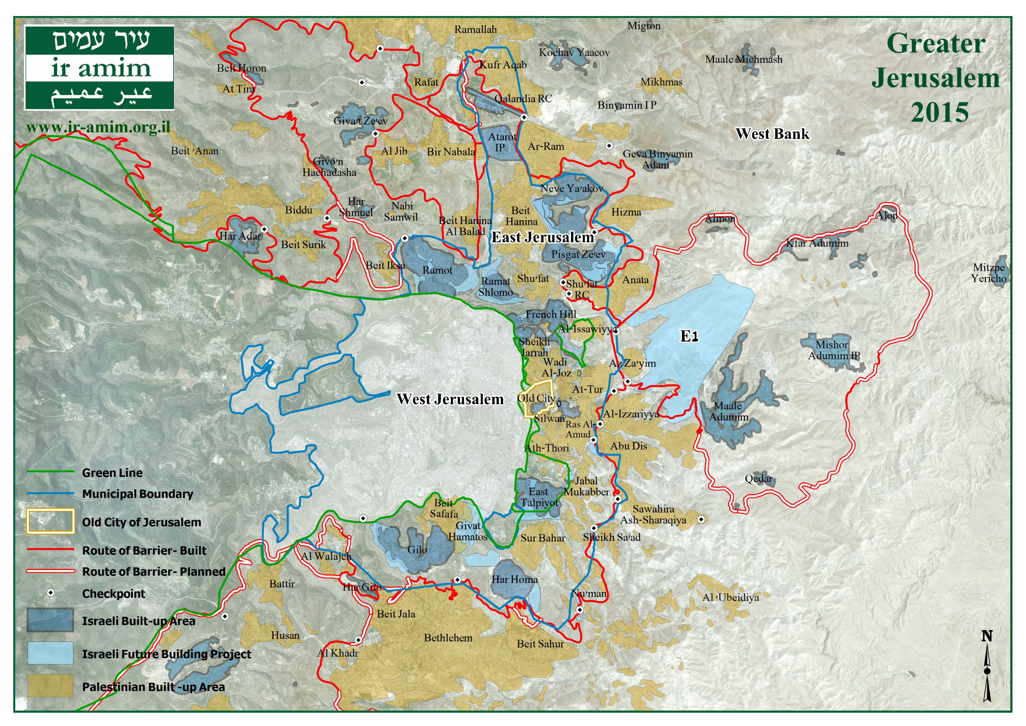 Broader view maps greater jerusalem 2015 gumiabroncs Image collections